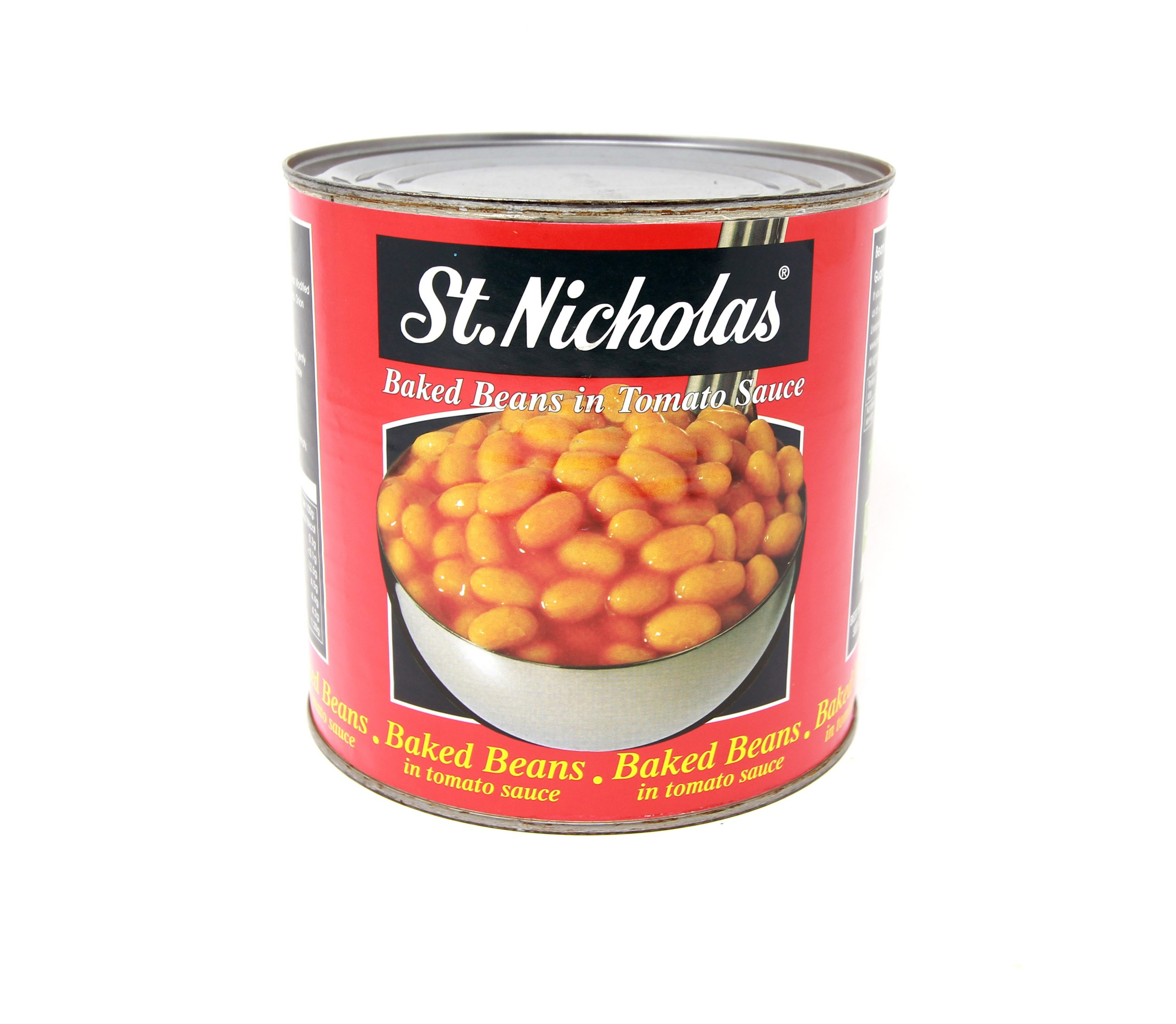 Baked Beans St Nicolas Tin 2 6kg Sunharvest Ltd