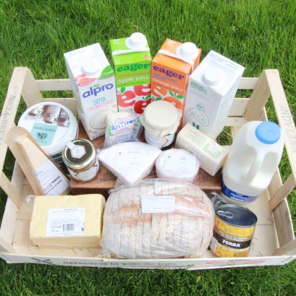 Essential Breakfast, Dairy and Juice Basket