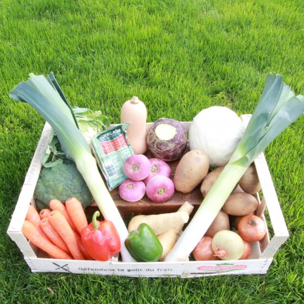Greens and Roots Basket