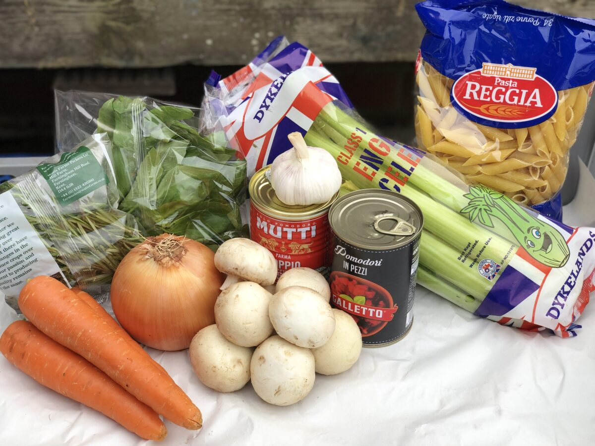 Penne-Bolognese-Mix