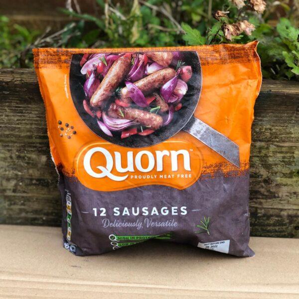 quorn-sausages